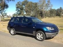 2003 Mitsubishi Outlander ZE XLS Blue 4 Speed Auto Sports Mode Wagon Salisbury Brisbane South West Preview