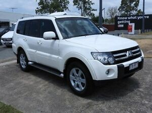 2009 Mitsubishi Pajero NT MY10 VR-X White 5 Speed Sports Automatic Wagon Morningside Brisbane South East Preview