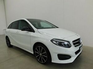 2016 Mercedes-Benz B200 W246 806MY d DCT White 7 Speed Sports Automatic Dual Clutch Hatchback Braeside Kingston Area Preview