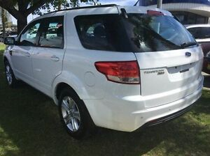 2013 Ford Territory SZ TX Seq Sport Shift White 6 Speed Sports Automatic Wagon Wodonga Wodonga Area Preview