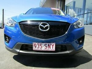 2012 Mazda CX-5 KE1021 Maxx SKYACTIV-Drive AWD Sport Blue 6 Speed Sports Automatic Wagon Earlville Cairns City Preview