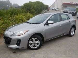 2013 Mazda 3 BL10F2 MY13 Neo Silver 6 Speed Manual Hatchback Windsor Hawkesbury Area Preview