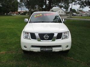 2010 Nissan Pathfinder R51 MY08 ST-L White 5 Speed Sports Automatic Wagon East Kempsey Kempsey Area Preview