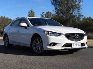 2015 Mazda 6 GJ1032 Sport SKYACTIV-Drive White 6 Speed Sports Automatic Sedan Wilson Canning Area Preview
