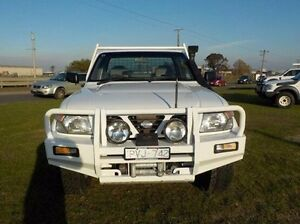 1999 Nissan Patrol White Manual Cab Chassis Pakenham Cardinia Area Preview