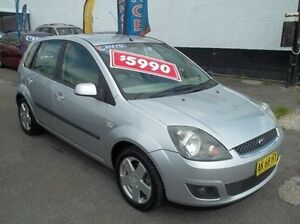 2006 Ford Fiesta WQ Ghia White 4 Speed Automatic Hatchback Broadmeadow Newcastle Area Preview