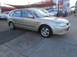 2001 Mazda 323 BJ II Astina Silver 4 Speed Automatic Hatchback Newington Auburn Area Preview
