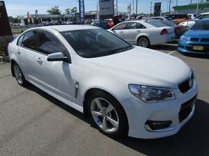 2015 Holden Commodore VF II MY16 SV6 White 6 Speed Sports Automatic Sedan Cardiff Lake Macquarie Area Preview