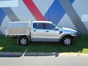 2014 Ford Ranger PX XLS Double Cab Silver 6 Speed Sports Automatic Utility Bunbury Bunbury Area Preview