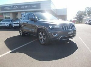 2014 Jeep Grand Cherokee WK MY2014 Overland Grey 8 Speed Sports Automatic Wagon Dubbo Dubbo Area Preview