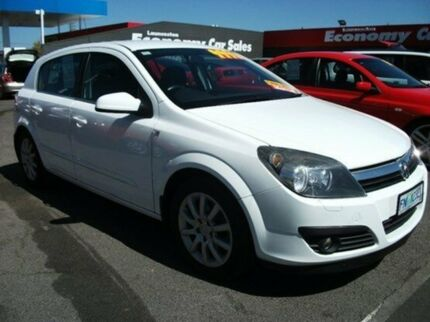 2006 Holden Astra AH MY07 CDTI White 6 Speed Manual Hatchback Invermay Launceston Area Preview