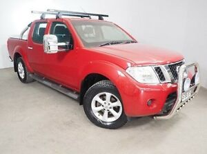 2010 Nissan Navara D40 ST-X 5 Speed Automatic Utility Mount Gambier Grant Area Preview