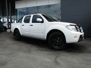 2012 Nissan Navara D40 S5 MY12 ST-X 550 White 7 Speed Sports Automatic Utility Earlville Cairns City Preview