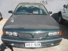 1995 Mitsubishi Verada KS EI Green 4 Speed Automatic Sedan Woodville Park Charles Sturt Area Preview