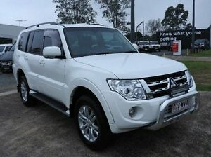 2013 Mitsubishi Pajero NW MY13 VR-X White 5 Speed Sports Automatic Wagon Morningside Brisbane South East Preview