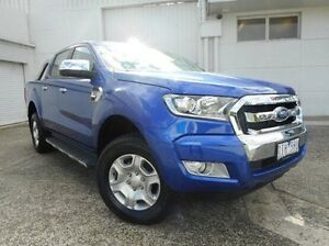 2016 Ford Ranger PX MkII XLT Double Cab Blue 6 Speed Sports Automatic Utility Bundoora Banyule Area Preview