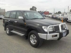 2004 Toyota Landcruiser Black Automatic Wagon Pakenham Cardinia Area Preview