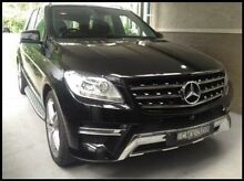 2013 Mercedes-Benz ML 166 250 CDI Bluetec (4x4) Obsidian Black 7 Speed Automatic Wagon Cardiff Lake Macquarie Area Preview
