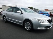 2010 Skoda Superb 3T Ambition DSG Silver 7 Speed Sports Automatic Dual Clutch Sedan Invermay Launceston Area Preview