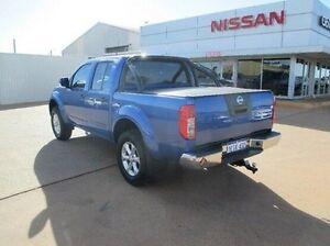 2012 Nissan Navara D40 S6 MY12 ST Blue 6 Speed Manual Utility South Kalgoorlie Kalgoorlie Area Preview