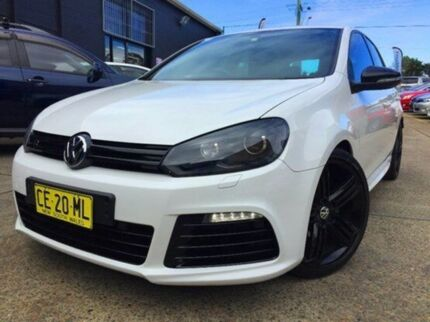 2011 Volkswagen Golf VI MY11 R DSG 4MOTION White 6 Speed Sports Automatic Dual Clutch Hatchback Kings Park Blacktown Area Preview