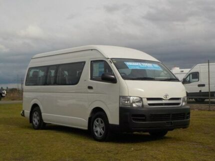 2007 Toyota Hiace KDH223R MY08 Commuter High Roof Super LWB French Vanilla 5 Speed Manual Bus Pakenham Cardinia Area Preview