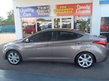 2011 Hyundai Elantra MD Premium Bronze 6 Speed Sports Automatic Sedan Mysterton Townsville City Preview