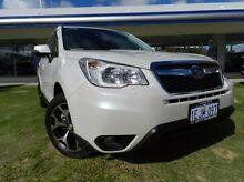 2013 Subaru Forester  White Manual Wagon Victoria Park Victoria Park Area Preview