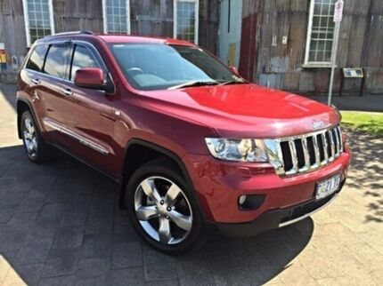 2012 Jeep Grand Cherokee WK MY2013 Limited Red 5 Speed Auto Seq Sportshift Wagon Invermay Launceston Area Preview
