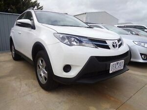 2014 Toyota RAV4 ASA44R GX (4x4) Glacier White 6 Speed Automatic Wagon Melton Melton Area Preview