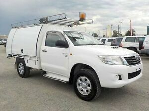 2011 Toyota Hilux White Manual Utility Pakenham Cardinia Area Preview
