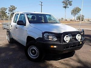 2013 Volkswagen Amarok 2H MY13 TDI400 Candy White 6 Speed Manual Cab Chassis Stuart Park Darwin City Preview