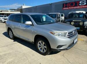 2010 Toyota Kluger GSU45R MY11 KX-R AWD Silver 5 Speed Sports Automatic Wagon Granville Parramatta Area Preview