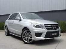 2014 Mercedes-Benz ML63 W166 AMG SPEEDSHIFT DCT Silver 7 Speed Sports Automatic Dual Clutch Wagon South Melbourne Port Phillip Preview