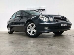 2002 Mercedes-Benz E320 Blue Sports Automatic Sedan Williamstown North Hobsons Bay Area Preview