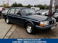 1991 VOLVO 240 GL 2.0 PETROL 4DR 111 BHP ** VERY CLEAN CLASSIC CAR **