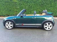 2005 05 MINI CONVERTIBLE 1.6 COOPER S 2D 168 BHP