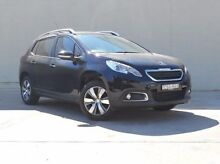 2014 Peugeot 2008 A94 Active Black 4 Speed Sports Automatic Wagon Fyshwick South Canberra Preview