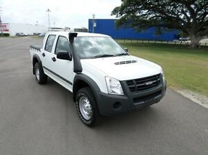 2012 Isuzu D-MAX MY11 SX White 5 Speed Manual Utility Hyde Park Townsville City Preview