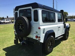 2015 Land Rover Defender 90 MY16 AWD White 6 Speed Manual Wagon Morwell Latrobe Valley Preview
