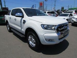 2016 Ford Ranger PX MkII XLT Double Cab White 6 Speed Sports Automatic Utility Cardiff Lake Macquarie Area Preview