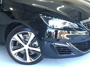 2016 Peugeot 308 Black Manual Hatchback Hoppers Crossing Wyndham Area Preview