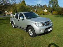2012 Nissan Navara D40 S5 MY12 ST-X Silver 7 Speed Sports Automatic Utility Derwent Park Glenorchy Area Preview
