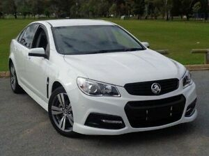 2014 Holden Commodore VF MY15 SV6 White 6 Speed Manual Sedan Elizabeth Playford Area Preview