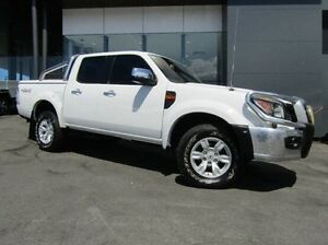 2009 Ford Ranger PK XLT Crew Cab White 5 Speed Automatic Utility Earlville Cairns City Preview