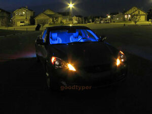 2 pcs bright blue car led dome map bulb 12smd interior light panel lamp w0612 a ebay. Black Bedroom Furniture Sets. Home Design Ideas