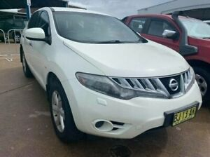 2010 Nissan Murano Z51 ST White 6 Speed Constant Variable Wagon Wickham Newcastle Area Preview