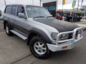 1993 Toyota Landcruiser FZJ80R GXL Silver 4 Speed Automatic Wagon Dandenong Greater Dandenong Preview