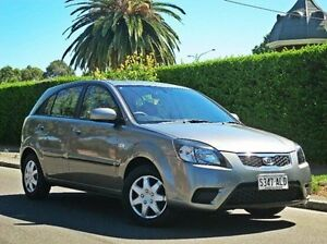 2010 Kia Rio JB MY10 S Grey 5 Speed Manual Hatchback Thorngate Prospect Area Preview