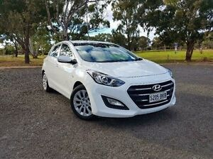 2015 Hyundai i30 GD3 Series II MY16 Active White 6 Speed Sports Automatic Hatchback Old Reynella Morphett Vale Area Preview